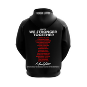 MoneYatti Justice and Equality black Women's hoodie
