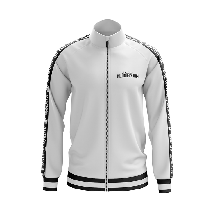 MoneYatti Millionaire Team White track suit (Jacket & Pant)