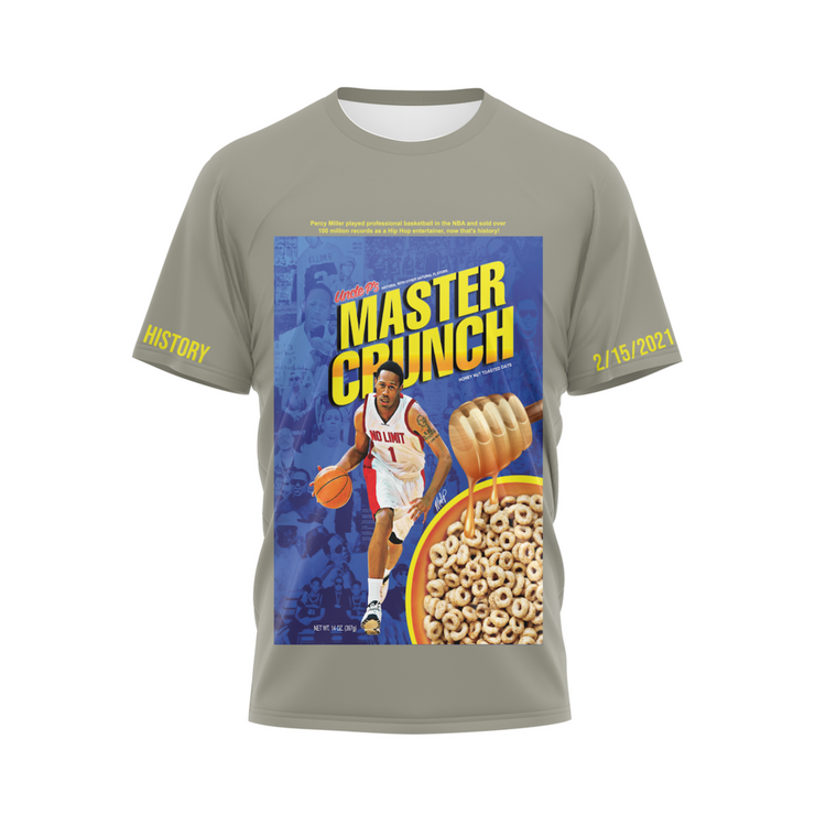MoneYatti Limited edtion Master Crunch Gray T-Shirt
