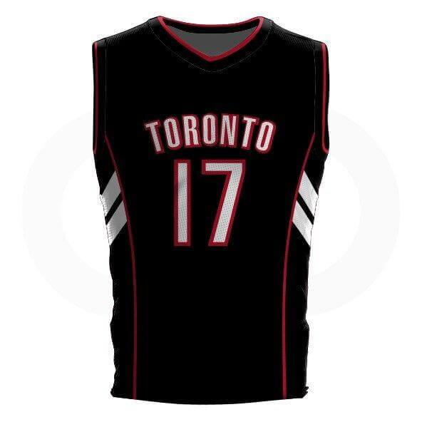 Master P DELUXE Black Raptors Jersey - Tackle twill names and numbers