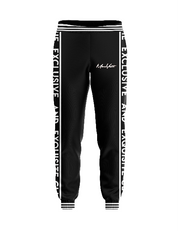 MoneYatti Black on Black Joggers