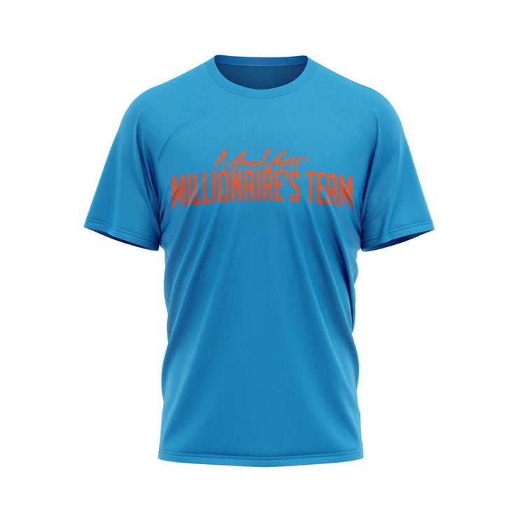 MoneYatti Millionaire Team Blue Orange T-Shirt