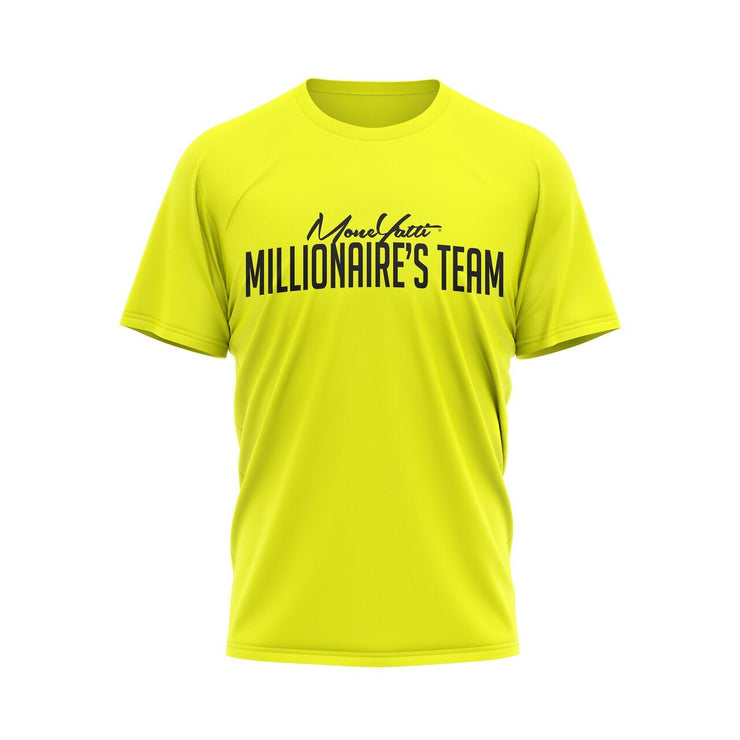 MoneYatti Millionaire Team Yellow  Women&