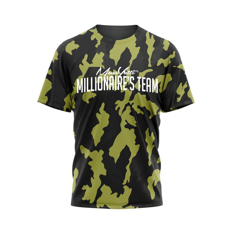 MoneYatti Millionaire Team Camo T-Shirt - Hot Gear