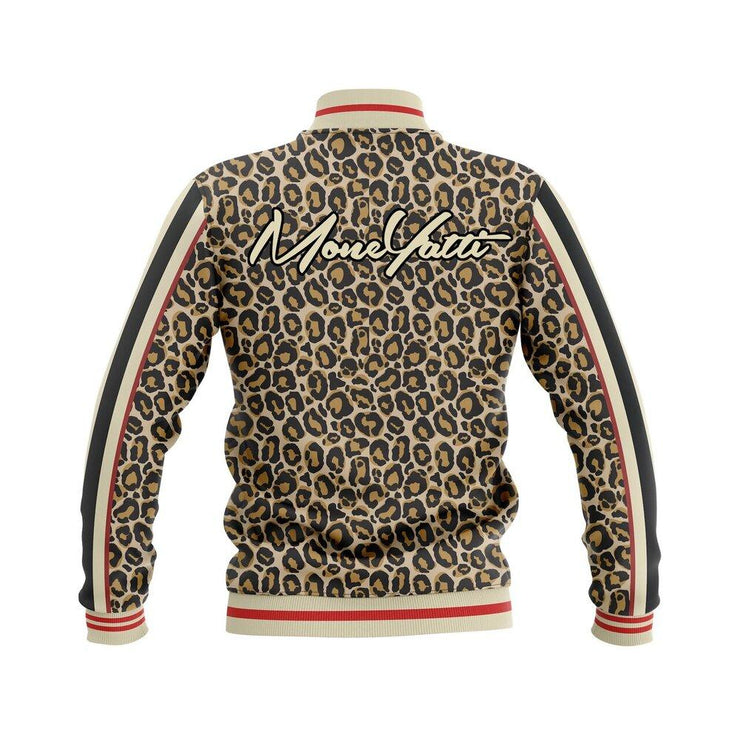 MoneYatti Reckless Leopard Bomber Jacket