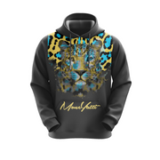 MoneYatti Neon Gold Leopard Women's Hoodie