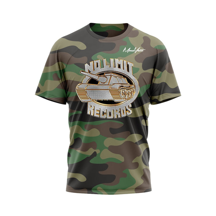 MoneYatti No Limit Records Classic Platinum Camo T-shirt