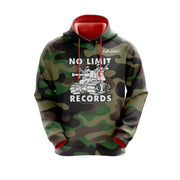 MoneYatti No Limit Records Black Classic Camo Hoodie
