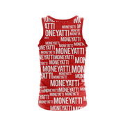 Moneyatti All over print red Women's tank top