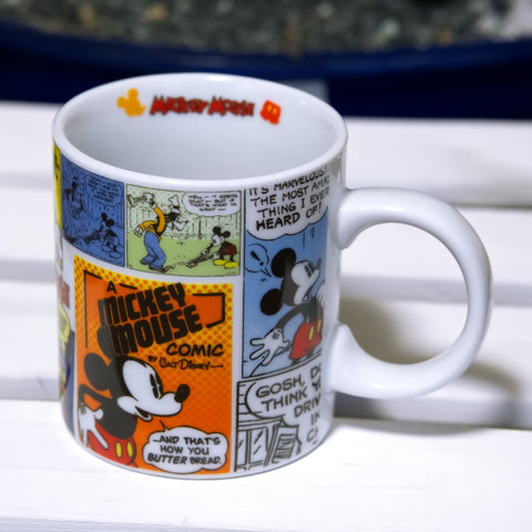 Disney Mickey Mouse comic mug from Walt Disney