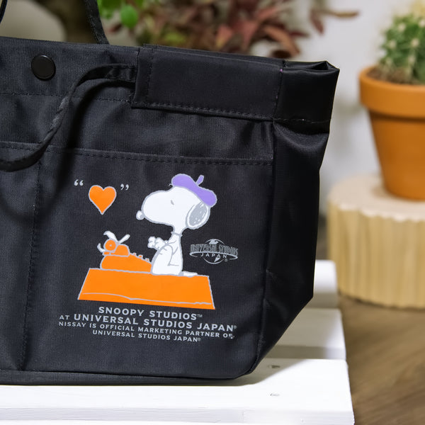 Snoopy PEANUTS lunch bag, Snoopy Studios at Universal Studios Japan