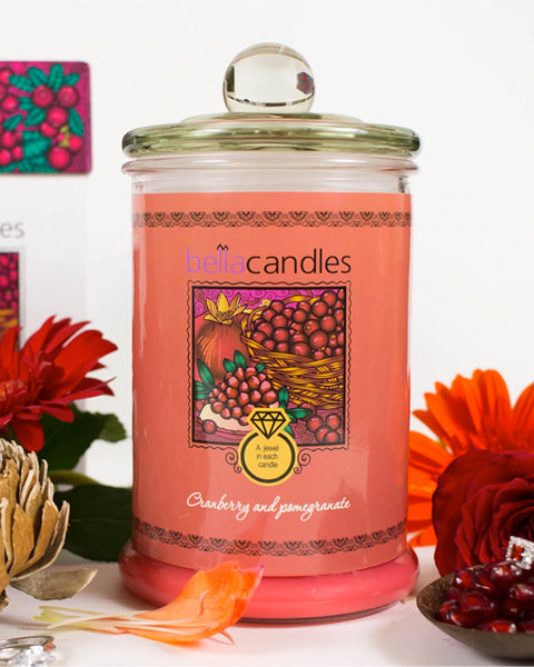 Cranberry & Pomegranate Candle