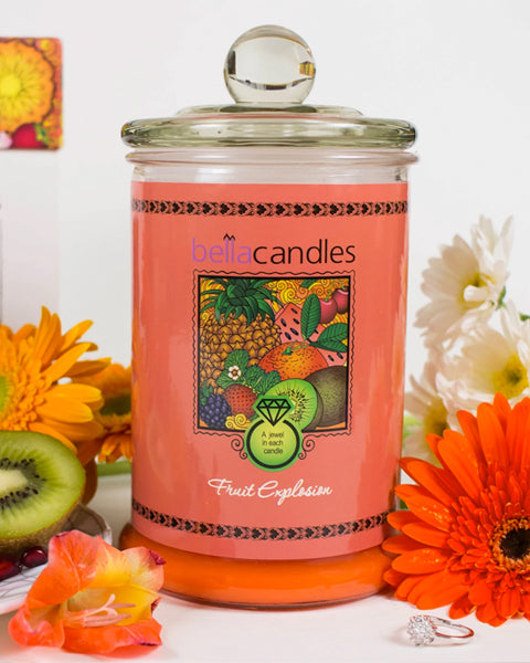 Fruit Explosion Candle