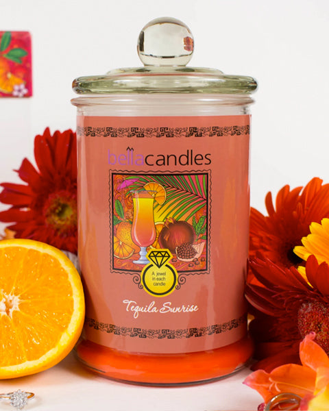 Tequila Sunrise Candle