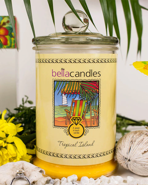 Tropical Island Candle