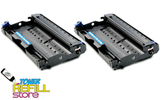 Brother DR-520 DR520 2 Pack Compatible Drum Units for the TN580 TN-580 Cartridge