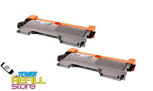 2 Pack Premium Compatible Toner Cartridges for the Brother TN450 TN-450 HL-2220 MFC-7860