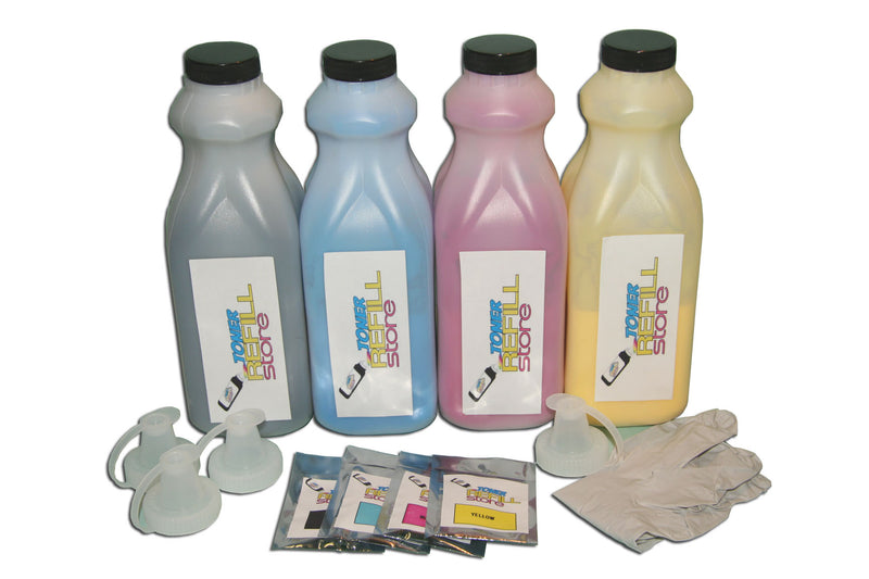 Okidata C9650 4 Pack Toner Refill With Chip
