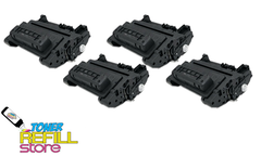 4 Pack CC364X Premium Compatible Toner Cartridges for the HP LaserJet P4015, P4515, P4015dn