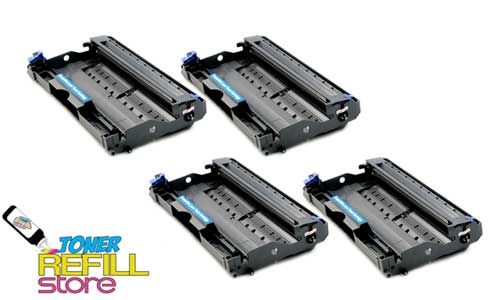 4 Pack Premium Compatible DR-350 DR350 Drum Unit for the Brother TN350 HL-2040