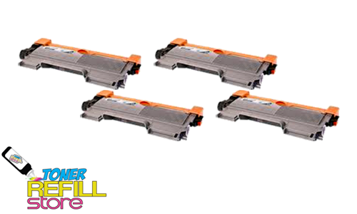 4 Pack Premium Compatible Toner Cartridges for the Brother TN450 TN-450 HL-2220 MFC-7860