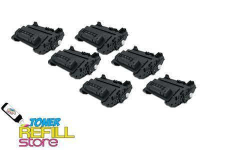 6 Pack CC364X Premium Compatible Toner Cartridges for the HP LaserJet P4015, P4515, P4015dn