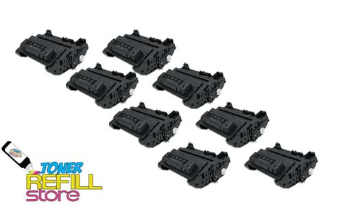 8 Pack CC364X Premium Compatible Toner Cartridges for the HP LaserJet P4015, P4515, P4015dn