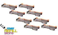 8 Pack Premium Compatible Toner Cartridges for the Brother TN450 TN-450 HL-2220 MFC-7860