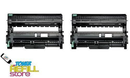 2 Pack DR-420 DR420 Drum Unit For Brother TN450 TN-450 DCP-7065DN HL-2250 HL-2270