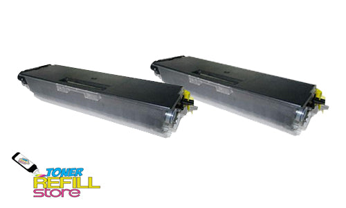 2-Pack Premium Compatible TN-580 High Yield Toner Cartridge for the Brother HL-5250