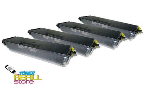 4-Pack Premium Compatible TN-580 High Yield Toner Cartridge for the Brother HL-5250