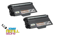 2 Pack Brother TN750 High Yield Toner for Brother HL-5440 HL-5450 HL-5470 HL-6180