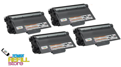 4 Pack Brother TN750 High Yield Toner for Brother HL-5440 HL-5450 HL-5470 HL-6180