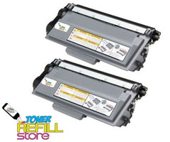 2 Compatible Brother TN780 TN-780 (12k Jumbo XXL) Super High Yield Toner Cartridges for HL-6180 MFC-8950DW MFC-8950DWT