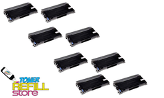 Brother TN-350 TN350 8 Pack High Yield Compatible Toner Cartridges