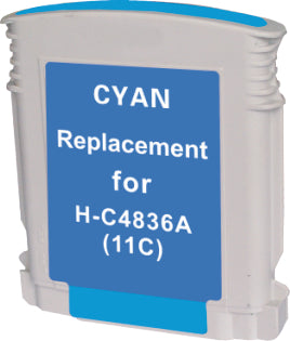 HP C4836A #11 Cyan Compatible Ink Cartridge
