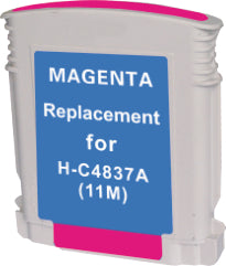 HP C4837A #11 Magenta Compatible Ink Cartridge