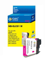 Brother LC61M LC61 Magenta Compatible Ink Cartridge
