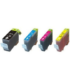 Canon CLI-8 4 Pack Compatible Ink Cartridges 1 of each
