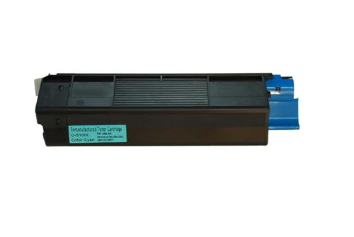 Okidata C5100 C5200 C5300 42127403 Cyan Compatible Toner Cartridge