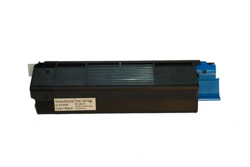 Okidata C5100 C5200 C5300 42127404 Black Compatible Toner Cartridge