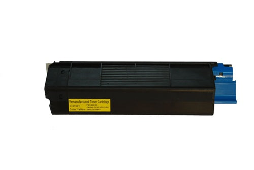 Okidata C5100 C5200 C5300 42127401 Yellow Compatible Toner Cartridge