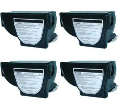 Toshiba T-1350 4 Pack Compatible Copier Toner Cartridge