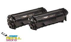 2-Pack Premium Compatible 104 Toner Cartridges for the Canon 104 FX-9 FX-10 MF4690
