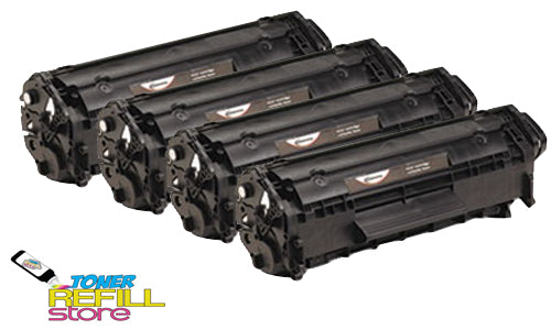 4-Pack High Yield FX10 Toner Cartridges for the Canon 104 ImageClass MF4690