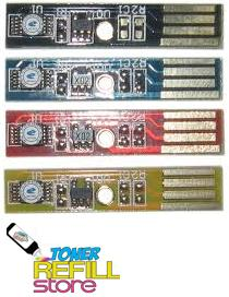 4 Pack High Yield Toner Cartridge Reset Chips for Dell 2150 2150cn 2155 2155MFP