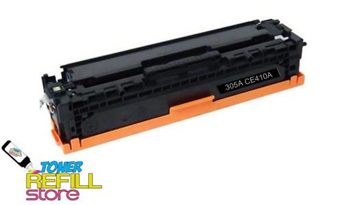 Hewlett Packard Remanufactured CE410A (HP 305A) Black Laser Toner Cartridge