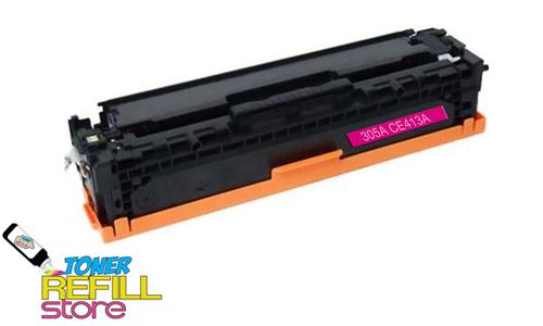 Hewlett Packard Remanufactured CE413A (HP 305A) Magenta Laser Toner Cartridge