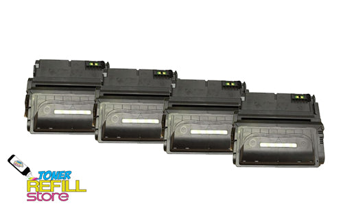 4-Pack Premium Compatible Q1338A 38AToner Cartridge for HP LaserJet 4200 4200N