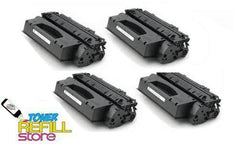 4 Pack Premium Compatible Q7553X Toner Cartridge for the HP LaserJet P2015 P2015d